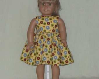 American Girl 18 inch Doll Size Dress Lifesavers