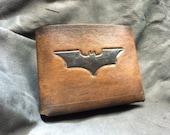 Leather batman dark knight Wallet