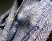 RESERVED FOR DONNA - Don't Purchase Unless You Are Donna - Handwoven Silk and Wool Scarf: The Ballet Dancer's Japanese Jeans