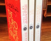 The Lord of the Rings Trilogy by J.R.R. Tolkien vintage box set, vintage books