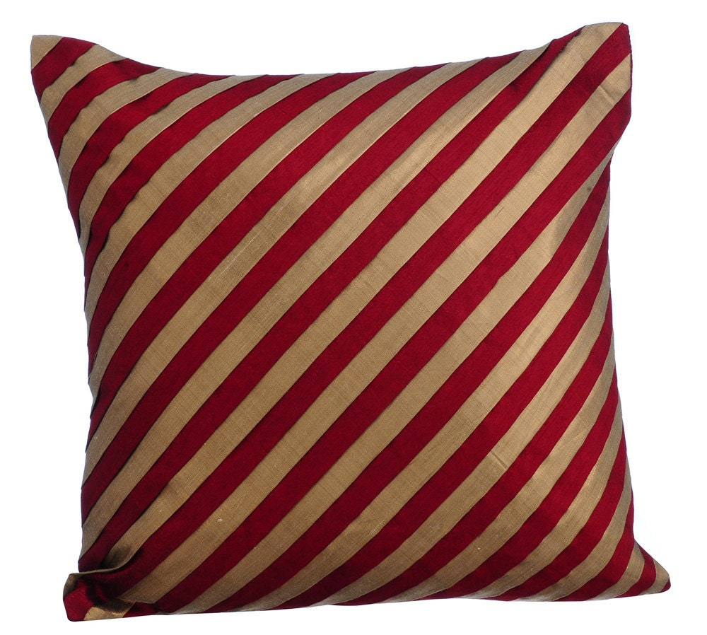 Throw Pillow Red : Red Decorative Throw Pillow Covers Accent Pillow Couch Toss