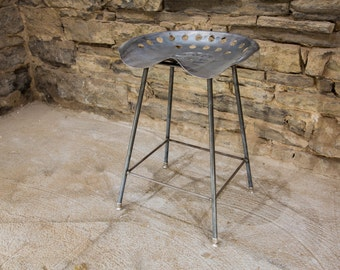 FREE SHIPPING - Vintage Tractor Seat Bar Stools - Great for restaurants, bars and cafes!