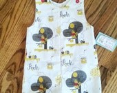 Winnie The Pooh - Boys Jon Jons -  Boys Spring Clothing - Boys Shortall - Boys 1st Birthday - Toddler Boy Outfit - Groovy Girlz