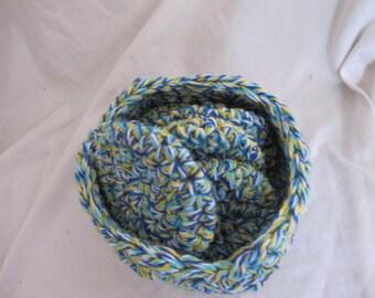 Nautical Facial Scrubber Basket Set (5212)