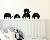 Elephant Trail - Wall decal