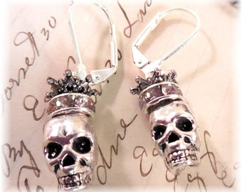 Skull Queen Earrings