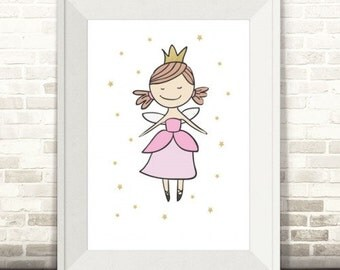 Little Princess Star Print