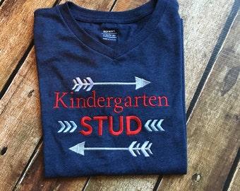Kindergarten Stud Tee Shirt