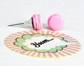 Macarons Studs - Macaroon Studs - Macaroons Earrings