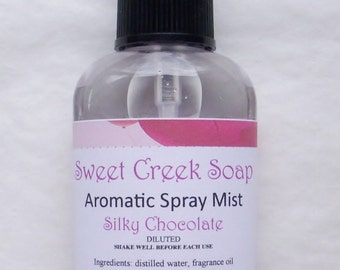 Aromatic Spray, Silky Chocolate, 2 oz.
