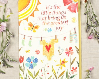 Little Things  - Greeting Card