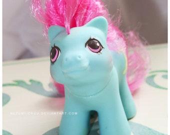 Vintage G1 MLP My Little Pony Newborn Ponies Shaggy #1