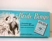 Vintage Bridal Shower Game, Bridal Bingo, Retro Wedding Shower, Retro Bridal Shower, Vintage Bingo, Vintage Wedding Shower Game,