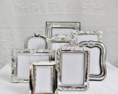 Instant Collection Family Gallery Silver Picture Frames Photo Wedding Display