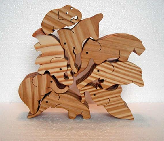 Stacking Toy Puzzles : Stacking elephant puzzle toys toddler