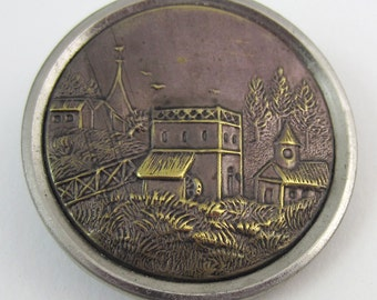 antique button Italian villa