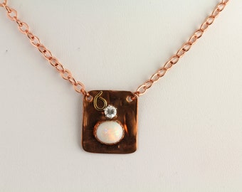 Opal Necklace. Listing 259545128