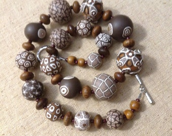 Kazuri/Samunnat Beaded Necklace Fair Trade-SALE
