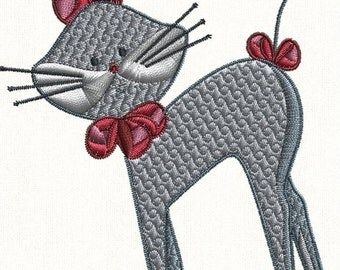 SALE 65% off Swirly Cats Cat Machine Embroidery Designs Set of 10 Instant Download Sale