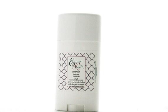 Lavender Dream Natural Deodorant  - Essential Oil Deodorant