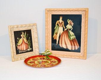 Vintage Antebellum Collection of Three