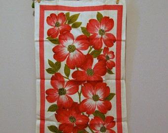 Vintage Linen Pink Dogwood