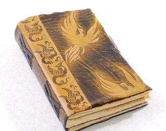 Brown Phoenix Leather Journal