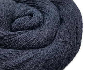 Merino Lace Weight Yarn - Recycled - Merino Lace - Midnight 80516