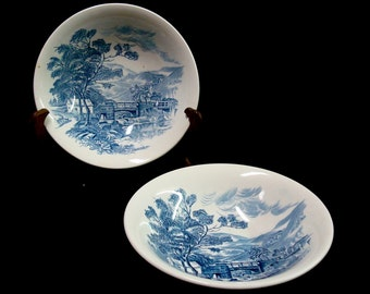 """Two WEDGWOOD """"COUNTRYSIDE"""" BOWLS"""