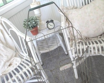 Vintage Flea Market Cart * Shabby French Cottage Farmhouse