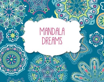 Adult Coloring Book - Mandala Dreams - Pads of Color