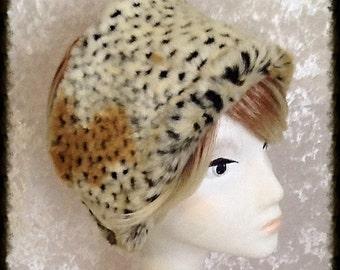 Luxury Faux Fur Cheetah Headband