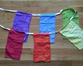 SALE! SAVE 40% silk rainbow banners