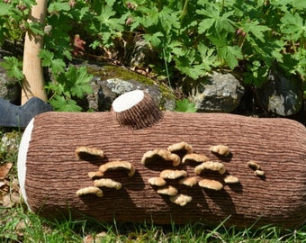 Your Very Own Log with Fuzzy Fungus