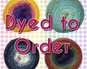 Lace Gradient Maki Yarn  - Dyed to Order - Choose your yarn, colorway, and yardage