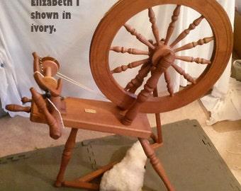 ASHFORD ST Spinning wheel, Sheepskin Treadle cover