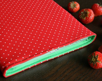 "New MacBook 12"" / 13"" MacBook Pro Retina sleeve / 15"" MacBook Pro RETINA sleeve / MacBook Retina case / MacBook cover - Strawberry"