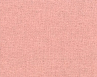 SALE Pink Wool Fabric - Half Yard - Bunny Hill Designs - Moda - 54812 13