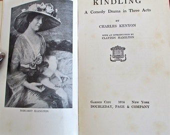 Kindling, 1914 by Charles Kenyon Theater. Poverty. Slums. Diversity. NYC Tenement District 1911. Immigrants. Activist Drama. Desperate Poor.