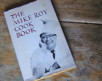 The Mike Roy Cook Book 1966 Vintage Books