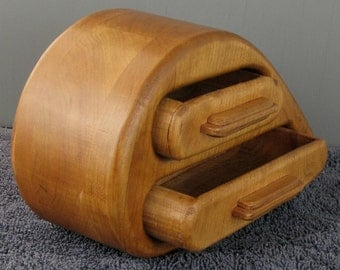 Solid Cherry Bandsaw Box
