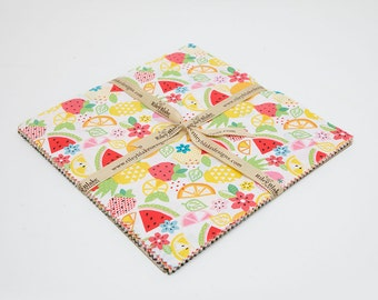 SPRING SALE - 42 Squares - 10 inch stacker - Fresh Market - Bella Blvd - Riley Blake Designs