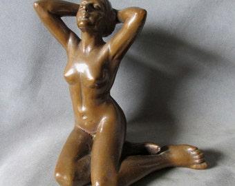 c1920s Art Deco, Art Nouveau  Nude Sculpture