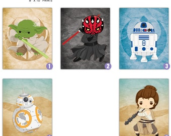 Star Wars 8x10 Prints