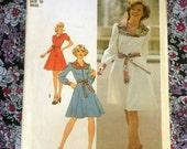 "Simplicity 7130 vintage misses dress sewing pattern // 36"" bust"
