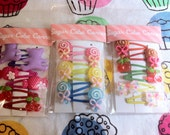 Lucky Pack of 6 Hair Clips