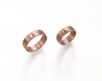 Reclaimed bronze band ring
