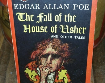 The Fall Of The House Of Usher And Other Tales by Edgar Allan Poe Vintage Paperback Book