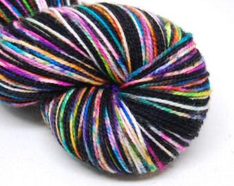 """Acoustic Sock Yarn - """"Superfun!"""" - Handpainted Superwash Merino - 400 Yards"""