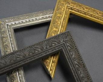 10 x 13, 11 x 14, 12 x 16 Ornate Vintage Gold, Silver,  Brown Picture Frames, Custom, Readymade, Chalkboard, Corkboard, Art, Photography,